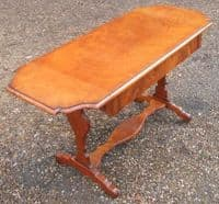 Mahogany Dropleaf Coffee Sofa Table